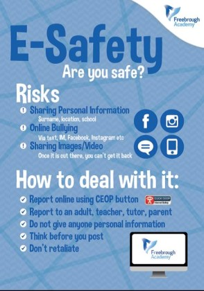 e safety poster